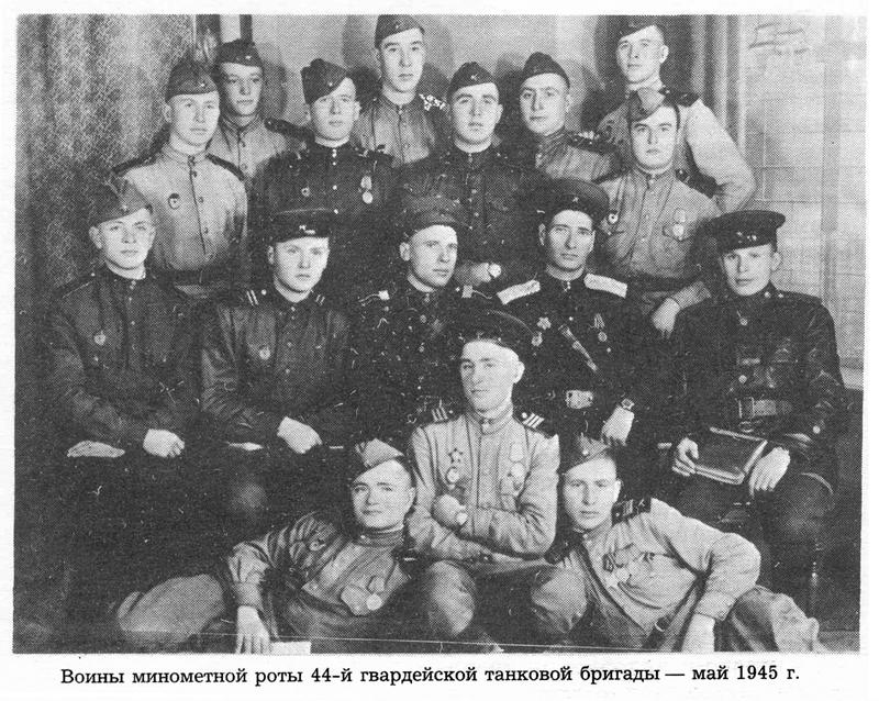 Сбор сержантского состава 303-го гвардейского стрелкового полка 99-й гвардейской стрелковой свирской ордена кутузова